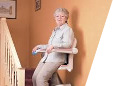 happy customer of A+ Stairlifts of Pittsburgh